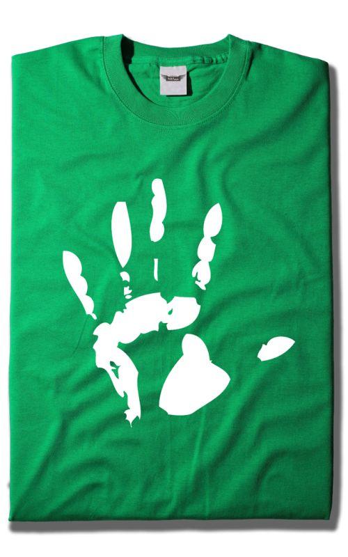 Camiseta Huella Mano