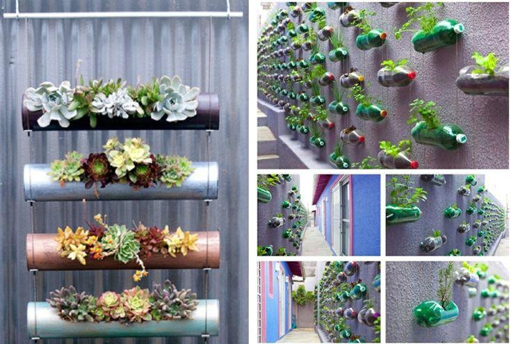 17 mejores ideas sobre jardines verticales caseros en for Plantas usadas para jardines verticales