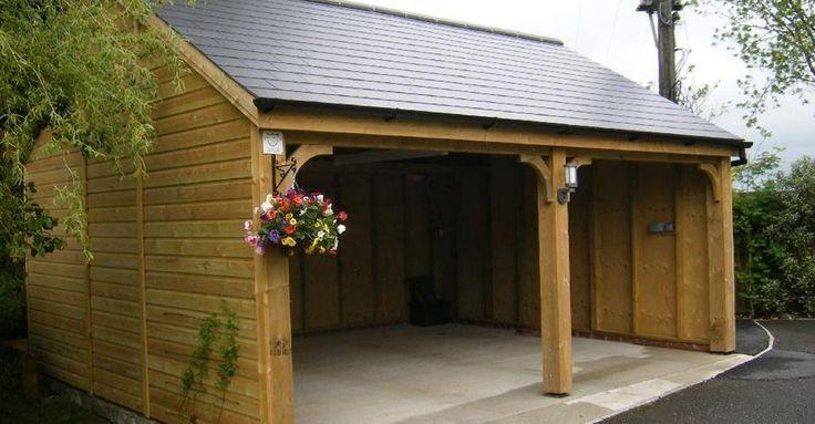 17 best images about sheds garages summerhouses on for Flat pack garden room
