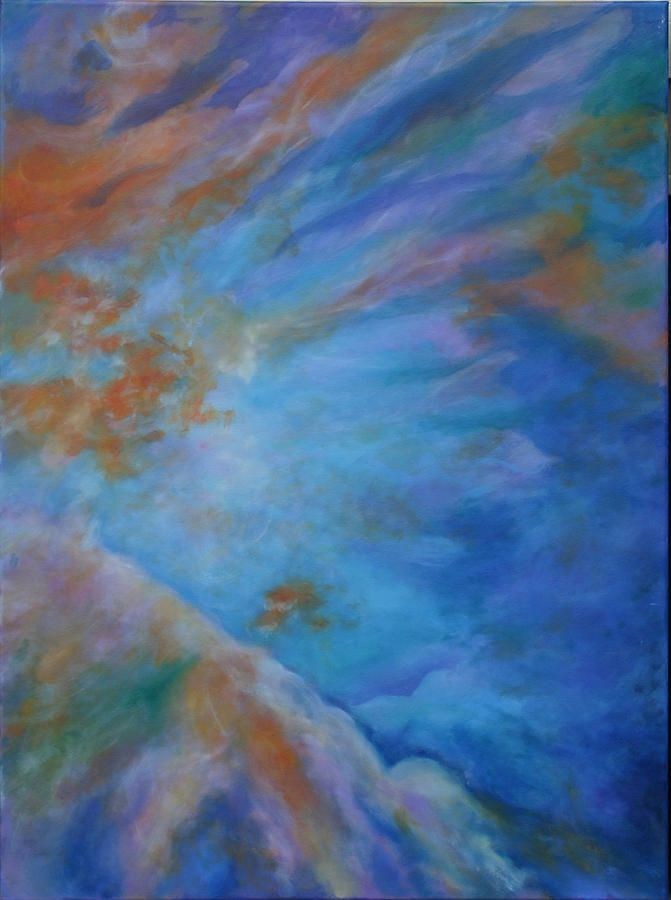 Beyond Orions Belt 02 Painting by Diana Hume