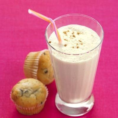 Milk shake banane aux deux laits