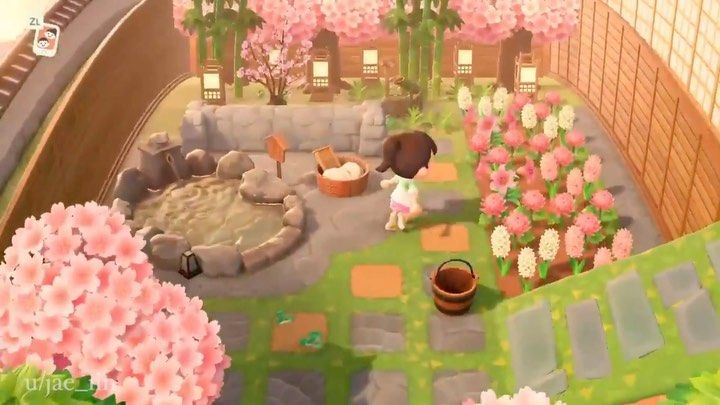 17 3k Likes 268 Comments Animal Crossing New Horizons Happyyhorizons On Instagram Spirited Away Bathh In 2020 Animal Crossing Pretty Animals Animal Crossing Qr