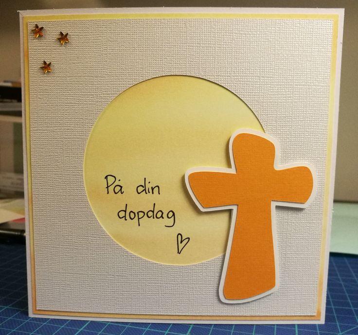 Dopkort, baptism card, christening card.