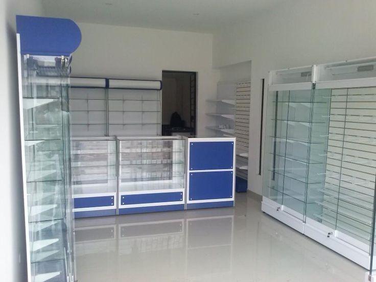Vendo vitrinas para negocio drogueria lugares para for Almacenes decoracion bogota