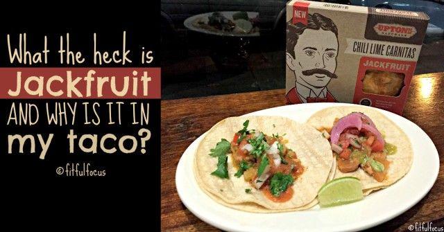 Jackfruit Taco | Upton Naturals | Vegan Taco | Gluten Free | Soy Free