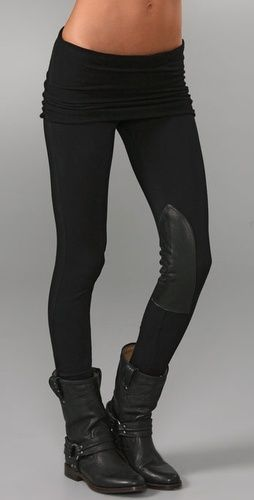 Equestrian Leggings - Now if only I had a horse to ride through the English countryside
