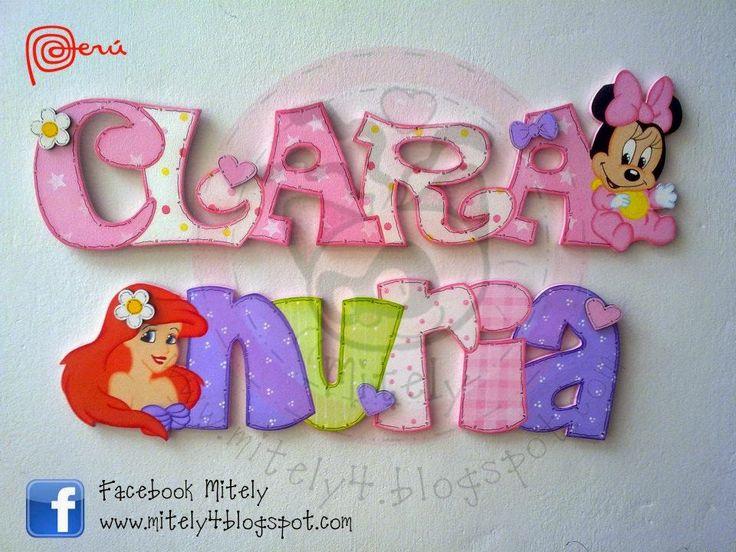 Nombres para Princesas #mitely #minnie #disney #princesas #sirenita