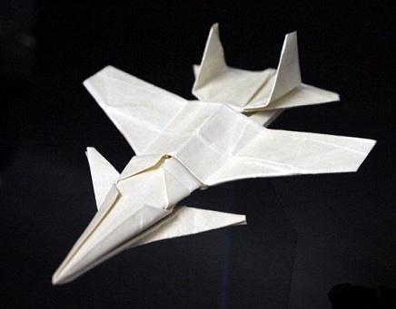 Origami SU27K Fighter Jet