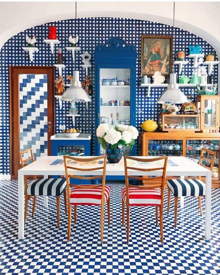 Indian Homeinterior Design: #maisonlaminervetta Via @elledecor #eclecticdesign