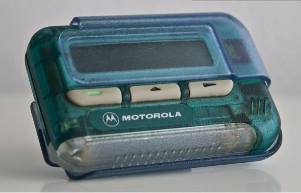 You begged your parents to get you a pager so that they could contact you whenever they wanted — but really it was for your friends to hit you up. | You'll Only Understand These 32 Photos If You Went To High School In The '90s