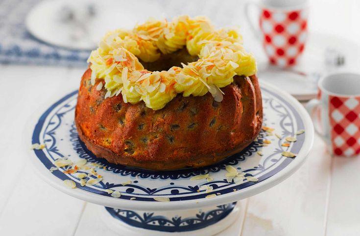 Geef je tulband een lekkere draai met boerenjongens, glazuur en amandelen. Bekijk het recept.
