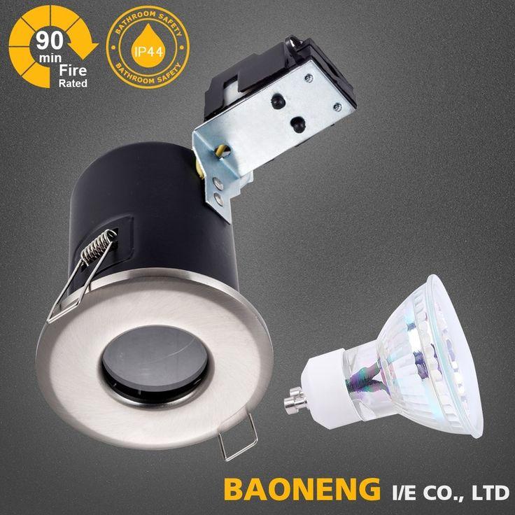 IP44 aluminiumn recessed fire rated led downlight