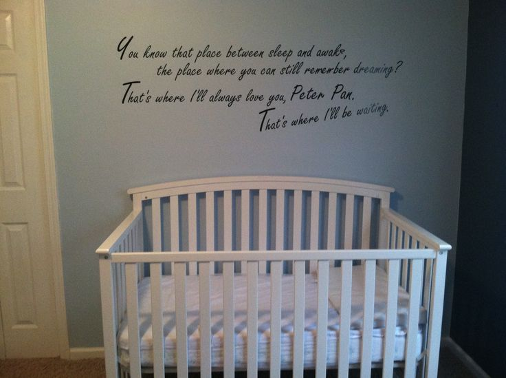 Peter Pan Nursery Ideas. eBay wall art. | Lakens Room