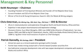 First Finance mining  management