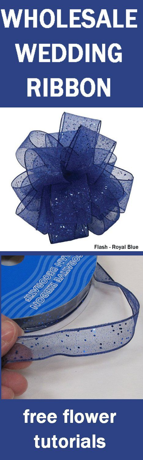 Wholesale Ribbon - Corsage and Bouquet Ribbon for Weddings and Prom Learn How to make bridal bouquets, corsages, boutonnieres, centerpieces and church decorations.  Buy wholesale flowers and discount florist supplies!