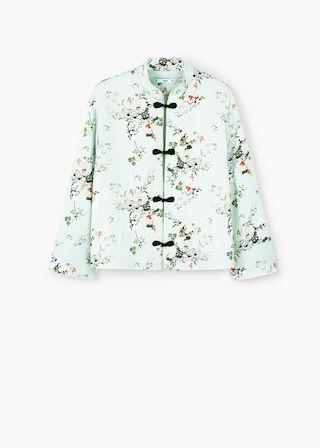 Printted kimono jacket | MANGO