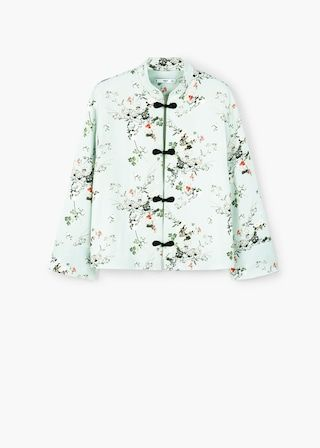 Chaqueta kimono estampada | MNG