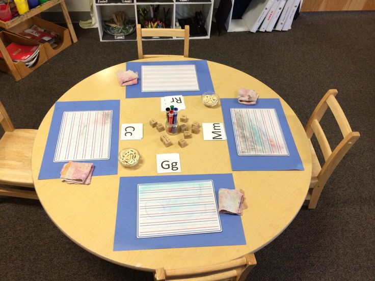 Writing. Reggio inspired provocation. Prek