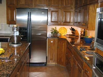 Kitchens With Baltic Brown Granite Countertops