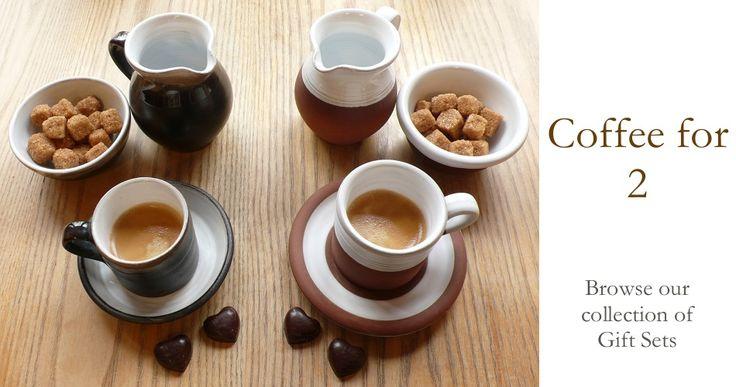 Coffee for 2. Stephen Pearce Pottery, Shanagarry, Cork, Ireland.