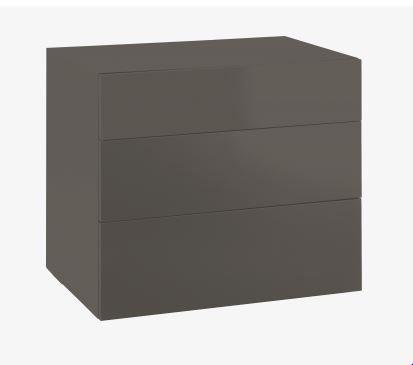 Perouse Commode laquée 3 tiroirs Habitat prix Commode Habitat 304.50 €