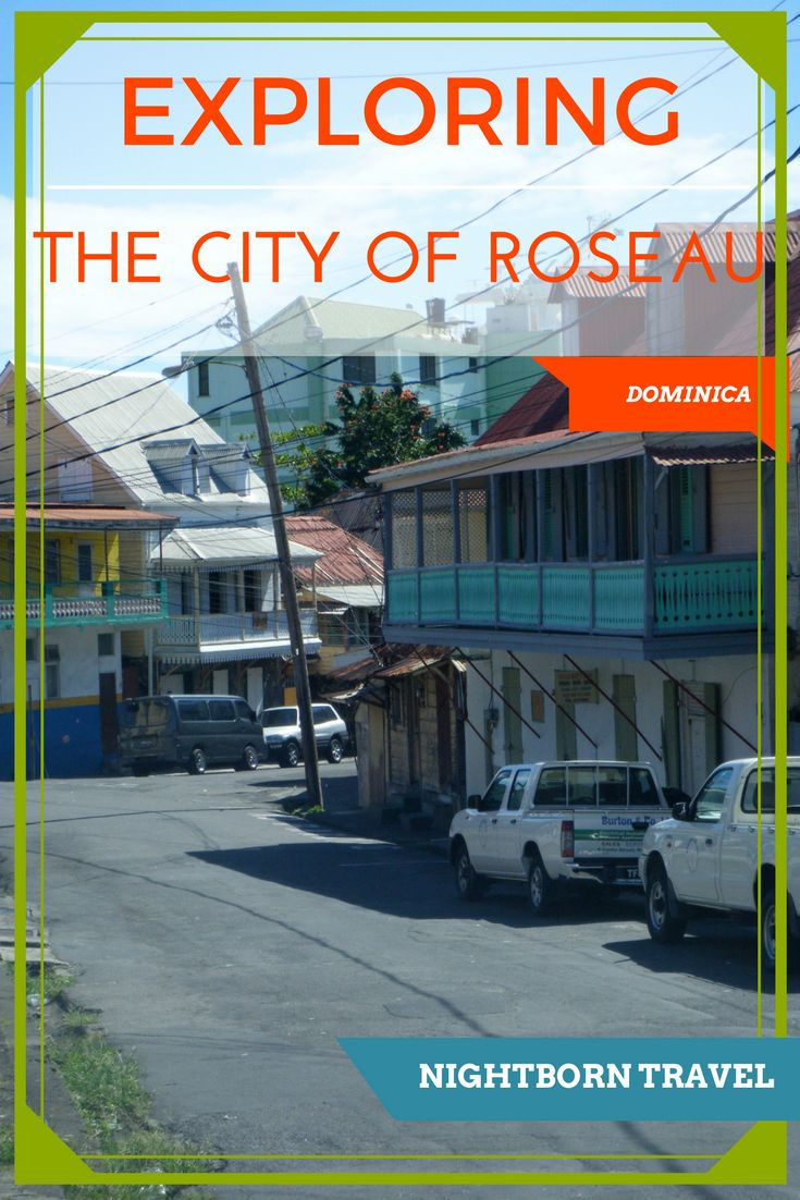 The history and culture of Roseau is unique. But the capital of Dominica also has all the Caribbean flavor that you want while visiting the region.