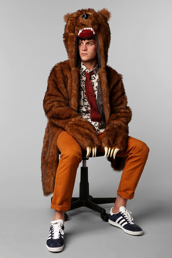 Workaholics Bear Coat. goddamn amazing it what this is!