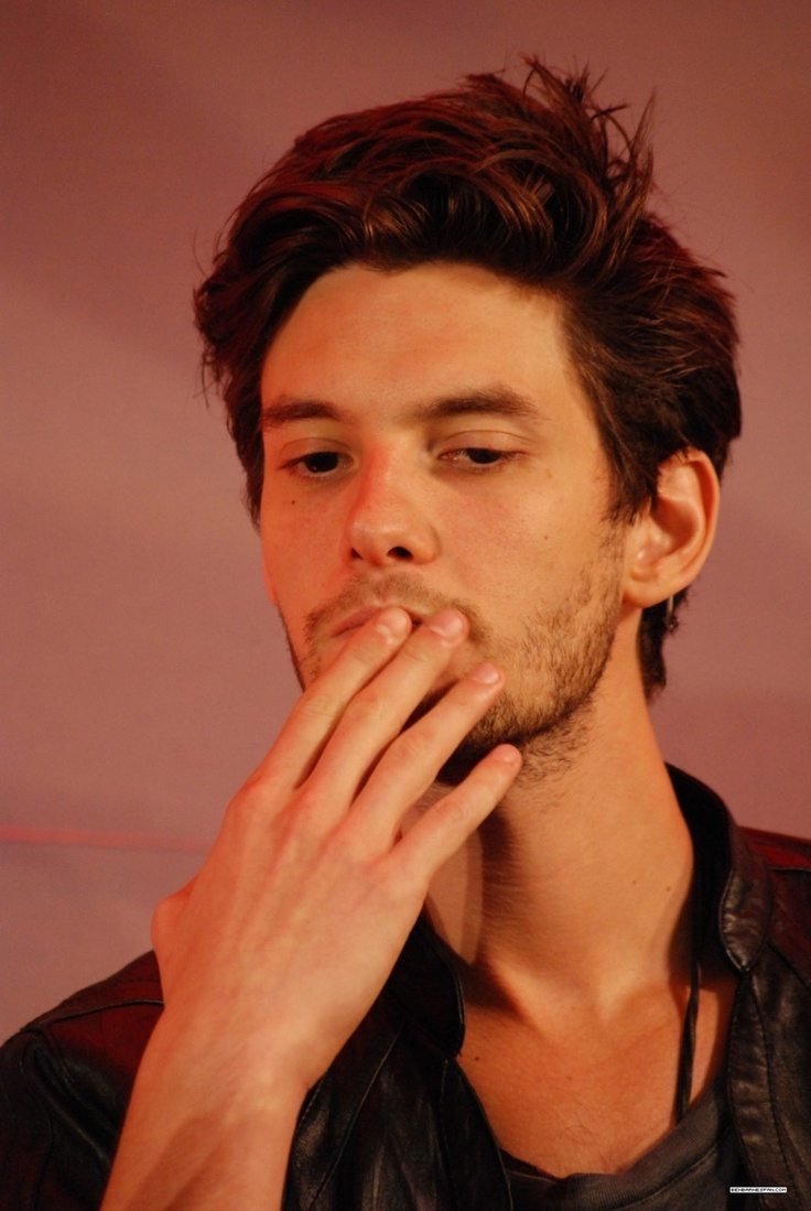 Ben Barnes- It almost looks like he's getting ready to blow a kiss to someone lucky! :) Blow one to me Ben! :) <3