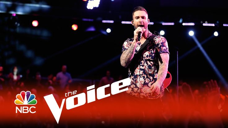 """woohoo absolutely love this live version <3 Maroon 5: """"Sugar"""" - The Voice 2015 <3"""