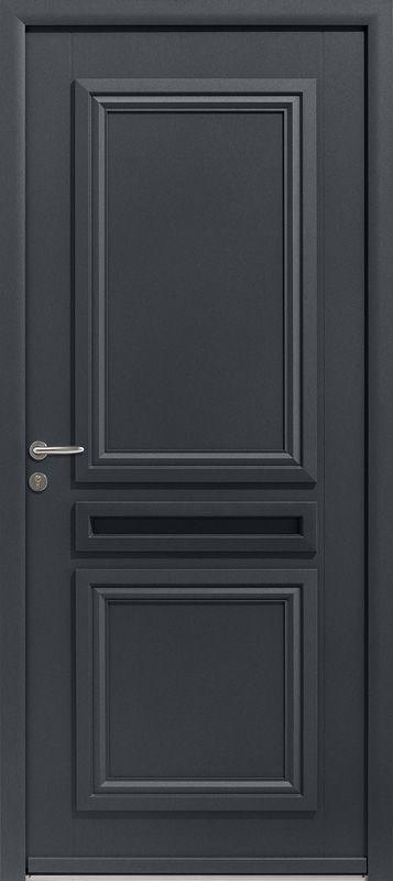 Porte d'entrée aluminium PICTO 2 - Porte aluminium design   ZILTEN