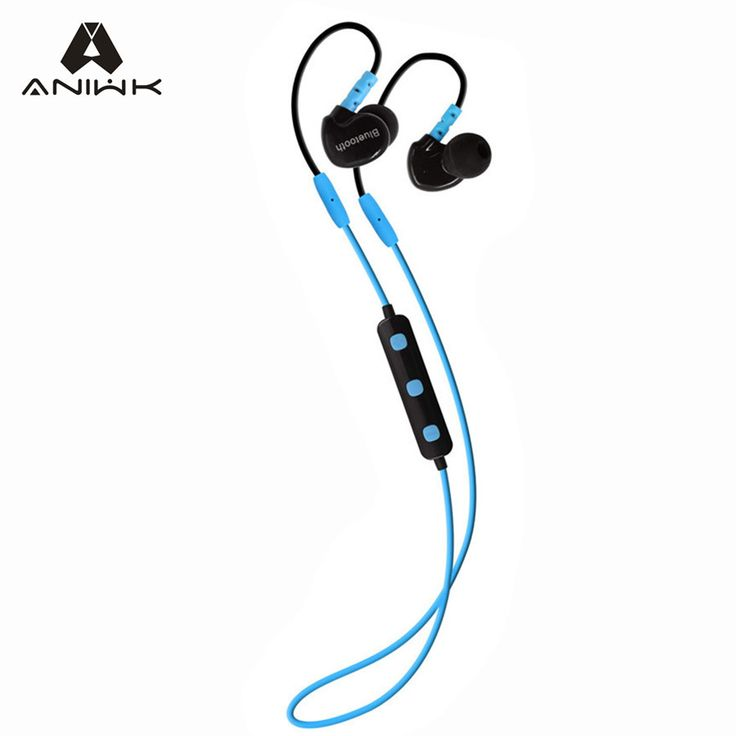 Aniwk Sports Running Bluetooth Earphone Mobile Phone Wireless Headset with Mic Noise Cancelling fone de ouvido Headphone Stereo