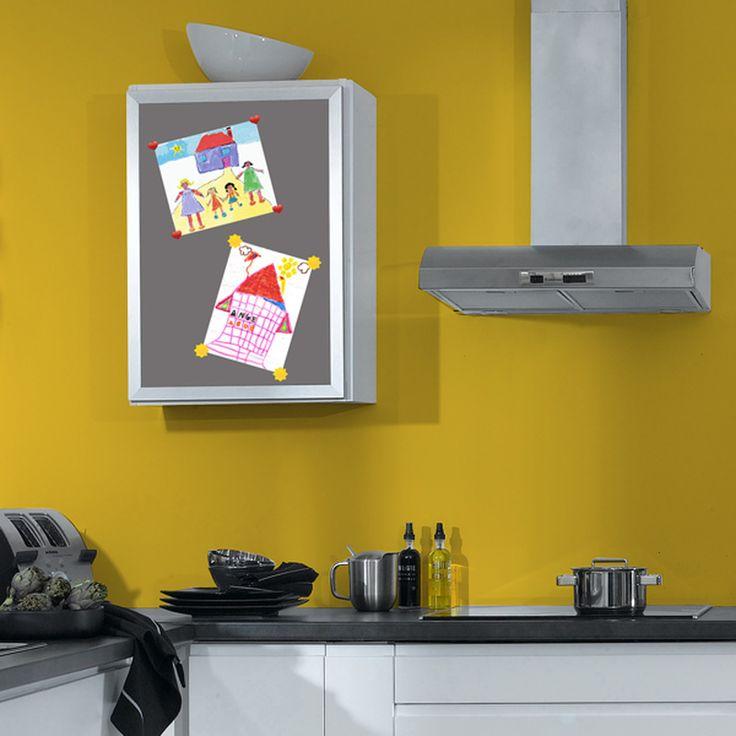 Les 25 meilleures id es concernant murs tableau magn tique for Meuble qui s accroche au mur