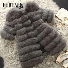 Warmful sistema entero de invierno piel de zorro ruso abrigo de pieles medio largo abrigo abrigo de pieles mujeres abrigo envío gratis(China (Mainland))                                                                                                                                                                                 Más