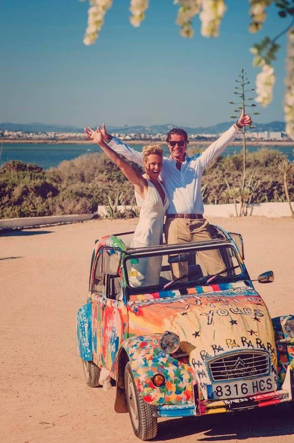 happy Ibiza wedding!  www.ibizamagic.com #ibiza #trouwen #weddingplanner #ibizaweddings