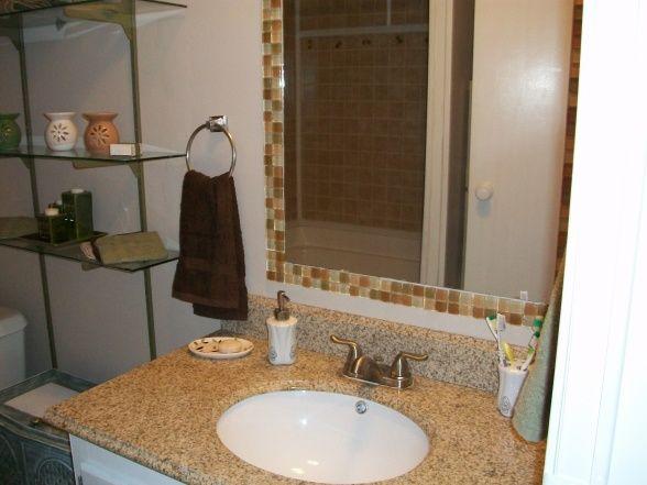 Best 25 tile around mirror ideas on pinterest tub - Best place to buy bathroom mirrors ...