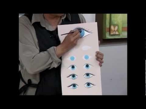 Como tejer ojos y banda pelo muñeca Paola amigurumi By Petus SEPTIMA PARTE 7/7 - YouTube