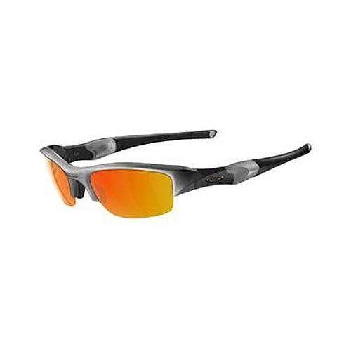 oakley livestrong flak jacket z5tq  Oakley Men's Flak Jacket Iridium Sunglasses
