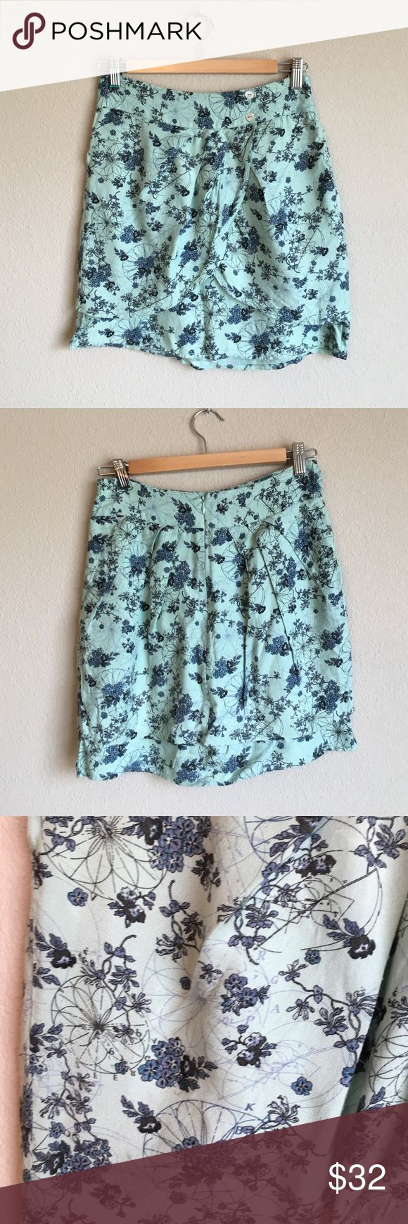 Selling this Kimchi Blue Floral Tulip Skirt - 4 on Poshmark! My username is: gealg. #shopmycloset #poshmark #fashion #shopping #style #forsale #Urban Outfitters #Dresses & Skirts
