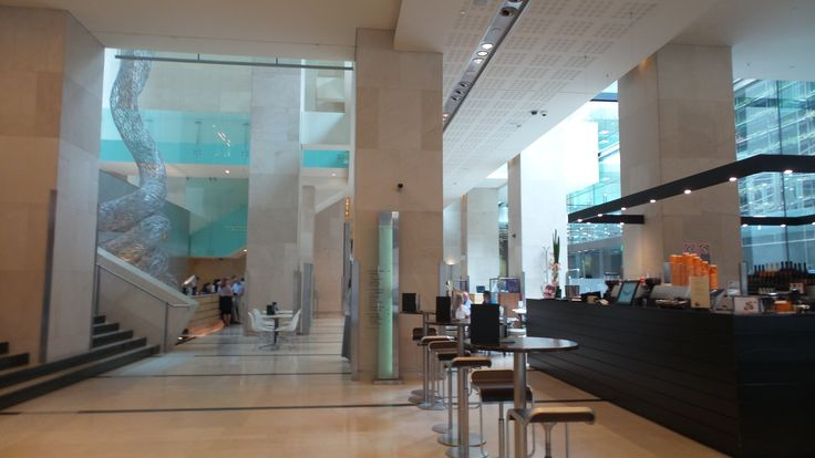 Lobby Area at the Hilton Sydney Hotel