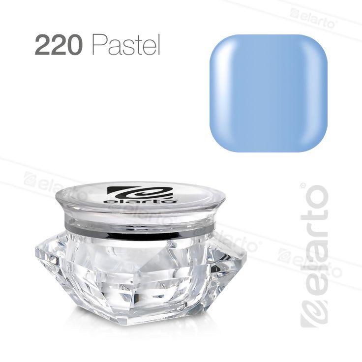 Żel kolorowy Extreme Color Gel nr 220 - błękitny (pastel) 5g #elarto #żel #kolorowy #błękitny #pastel