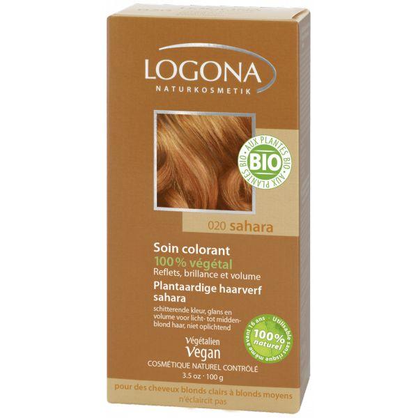 Soin Colorant 100% Végétal Sahara