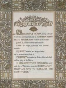 Constitution of India-Important GK Questions and Answers For Competitive Exam
