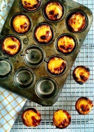Portuguese Custard Tarts Vous pouvez acheter les moules pour réaliser ces pâtisseries sur la boutique en ligne www.portugalinbox.com