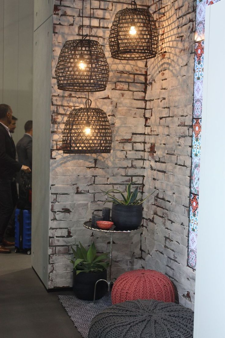 Alno Displayed These Basket Like Cage Pendant Lights In A Corner, Which  Could Be Ideas