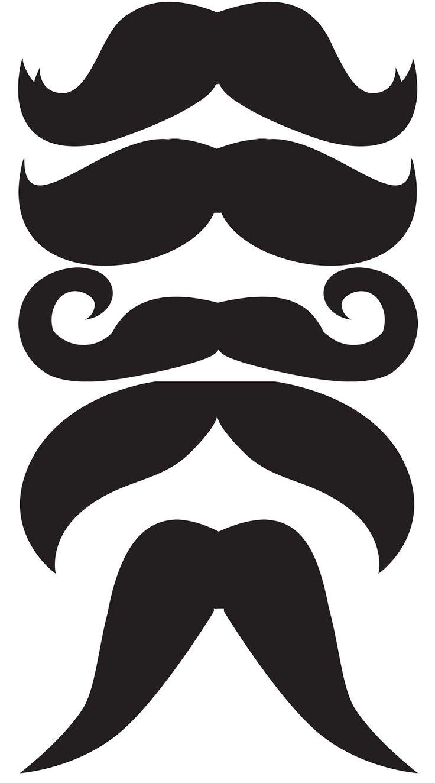 Crêpe & Chignon: Moustache party !