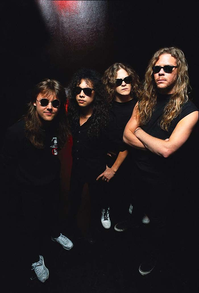 Metallica back when they were the kick@$$,no holds barred speed metal band I onced loved  respected.
