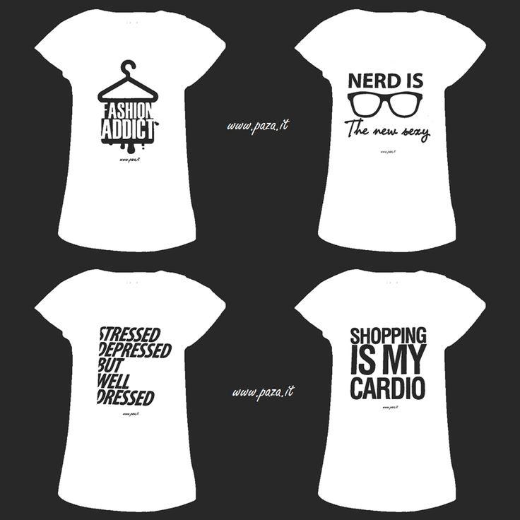 """www.paza.it a breve lancerà la linea di tshirt """"alla moda"""" !!!"""