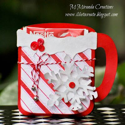 M. Miranda Creations: Hot Cocoa Gift Mug