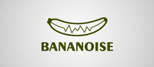 banananoise logo design