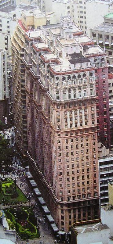 Edifício Martinelli (cobertura) - Centro